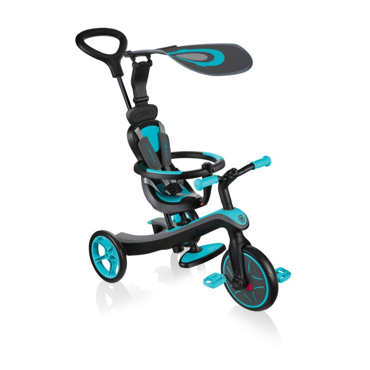 Велосипед-беговел Globber Trike Explorer (4 IN 1)